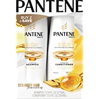 Pantene Pro-V 12.6 Fl Oz and 12 Fl Oz Daily Moisture Renewal Hydrating Shampoo and Conditioner Dual Pack