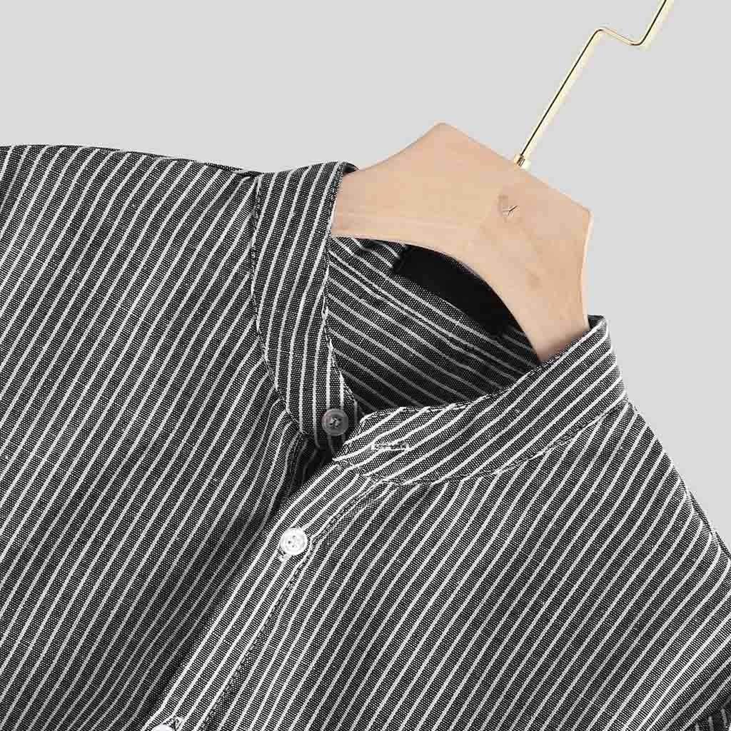 Sylar Camisas De Hombre Manga Larga Camisas De Rayas Tallas ...