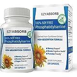 EzyAbsorb Soy-free PhosphatidylSerine, 100mg veggie capsules, 120 count
