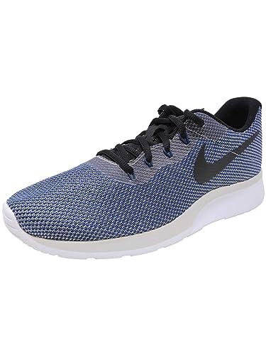 quality design 5365f cf1c0 Nike Mens Tanjun Racer VAST Grey Black Navy White Size 10