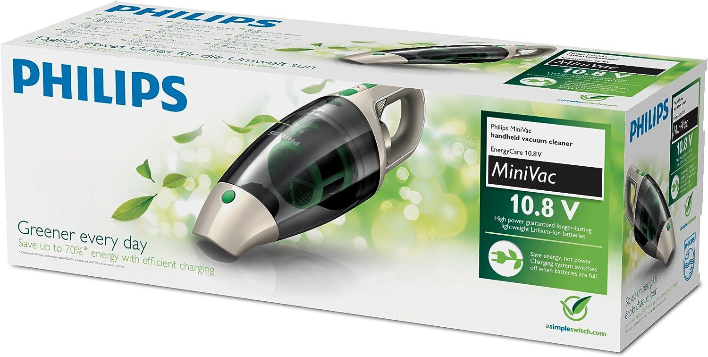 Philips FC614X Energy Care - Aspiradora de mano, color Crema/Verde: Amazon.es: Hogar