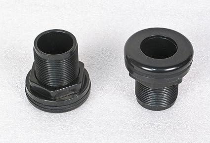 "1-1//2/"" 1.5/"" Bulkhead Fitting Thread x Slip Silicon Washer Very High Quality"