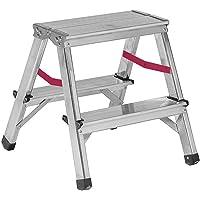 Nawa Escalera tijera doble acceso de aluminio 2