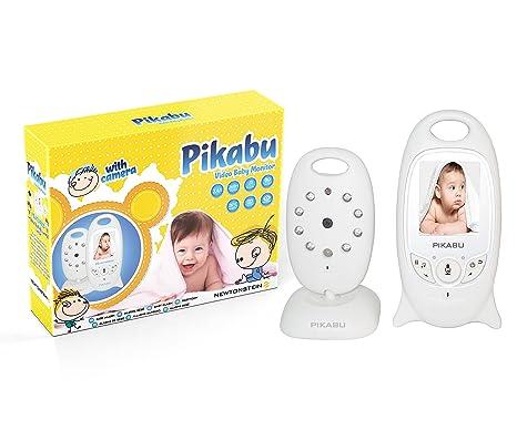 Pikabu - Alarma para bebés digital inalámbrica, pantalla LCD 2