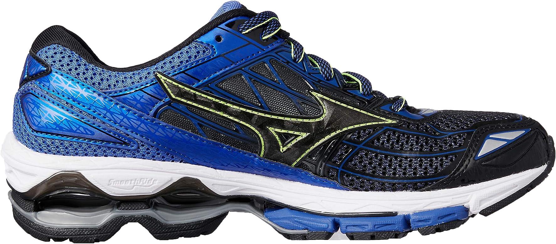 Mizuno Wave Creation 19, Zapatillas de Running para Hombre, Multicolor (Black/Black/dazzlingblue 10), 40.5 EU: Amazon.es: Zapatos y complementos