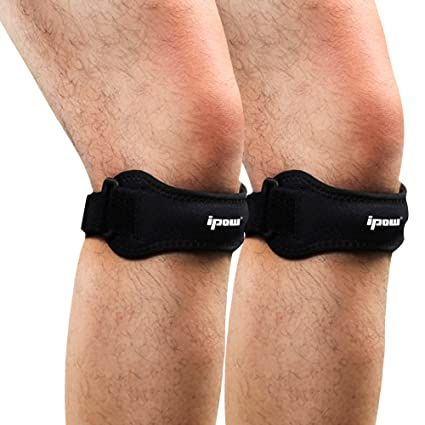Ipow 2 Pack Knee Pain Relief & Patella Stabilizer Knee Strap Brace Support