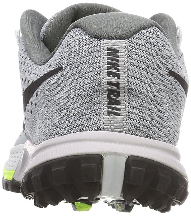 Nike W Air Zoom Terra Kiger 4 - Scarpe Running Donna, Nero (Noir/Vert Volt/Hyper Turquoise/Blanc), 38 EU