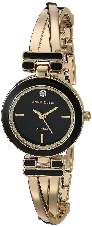 Anne Klein Womens AK-2622BKGB AK Anne Klein AK/2622BKGB