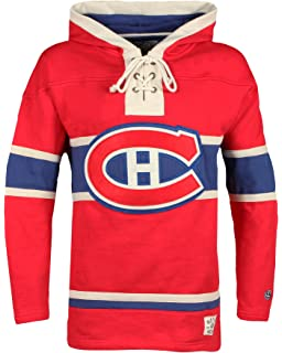 2cd34c14a62 Old Time Hockey NHL Montreal Canadiens Men s Lacer Heavyweight Hoodie