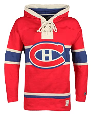 Image Unavailable. Image not available for. Color  Old Time Hockey NHL  Montreal Canadiens Men s Lacer Heavyweight Hoodie ... a765a3d8c