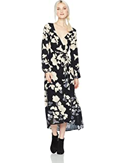 aca6e2ad1a Amazon.com  Billabong Women s Desi Kimono Dress  Clothing