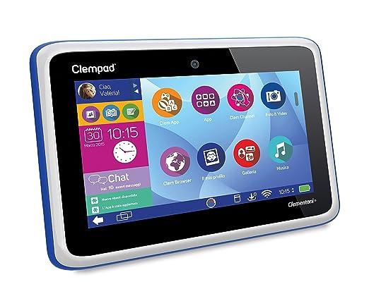 33 opinioni per Clementoni 13328- Tablet Educativo, Clempad 5.0 , Doppia Fotocamera, Schermo 7