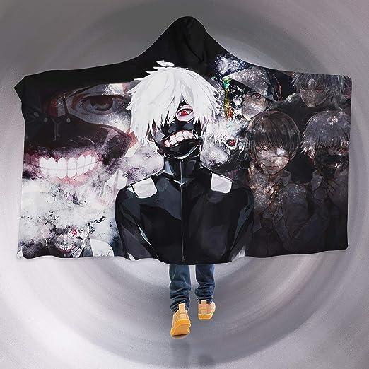 Aj Wallpaper 3d Tokyo Ghoul 2608 Manta Con Capucha Diseño