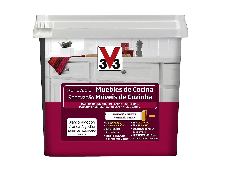 V33 - Reno Muebles de Cocina 750ml Blanco Algodó n