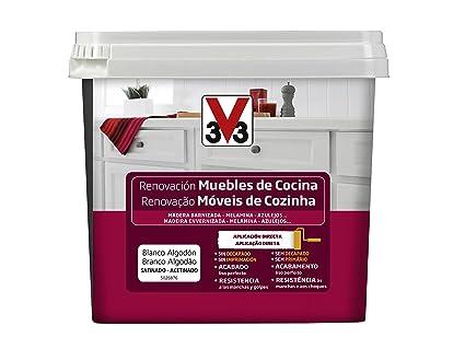 V33 - Reno Muebles de Cocina 750ml Blanco Algodón