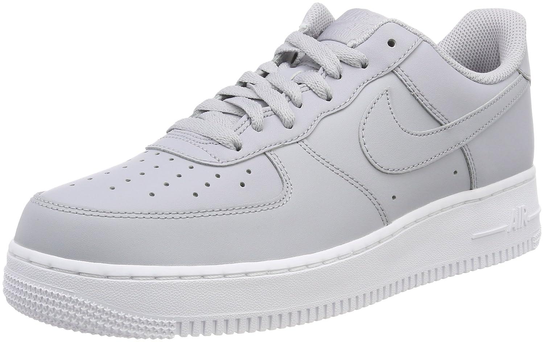 Nike Herren Air Force 1 07 Fitnessschuhe Mehrfarbig (Wolf Grey 010)