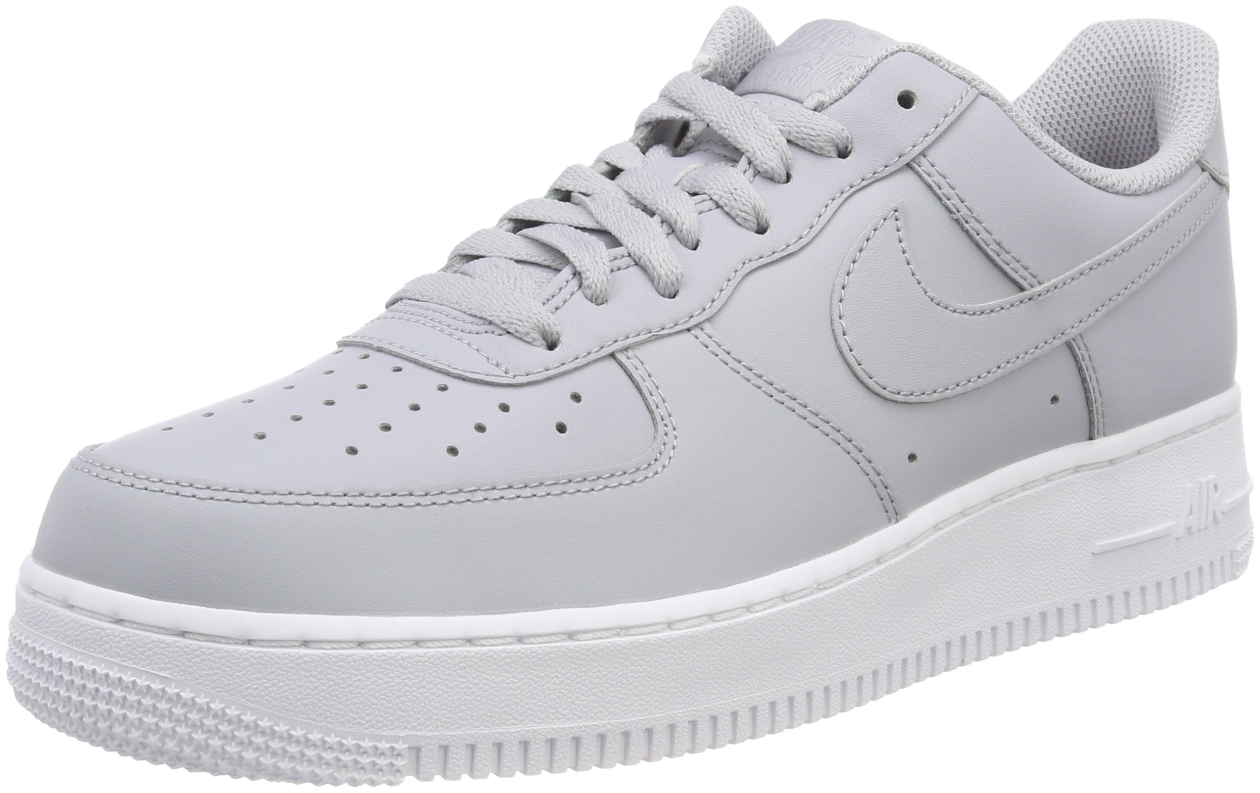 cc2cc0467df Nike Mens Air Force 1 Low 07 Basketball Shoes Wolf Grey/White AA4083-010  Size 11.5