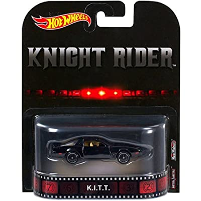 Hot Wheels - 2020 Retro Entertainment - Knight Rider K.I.T.T.: Toys & Games