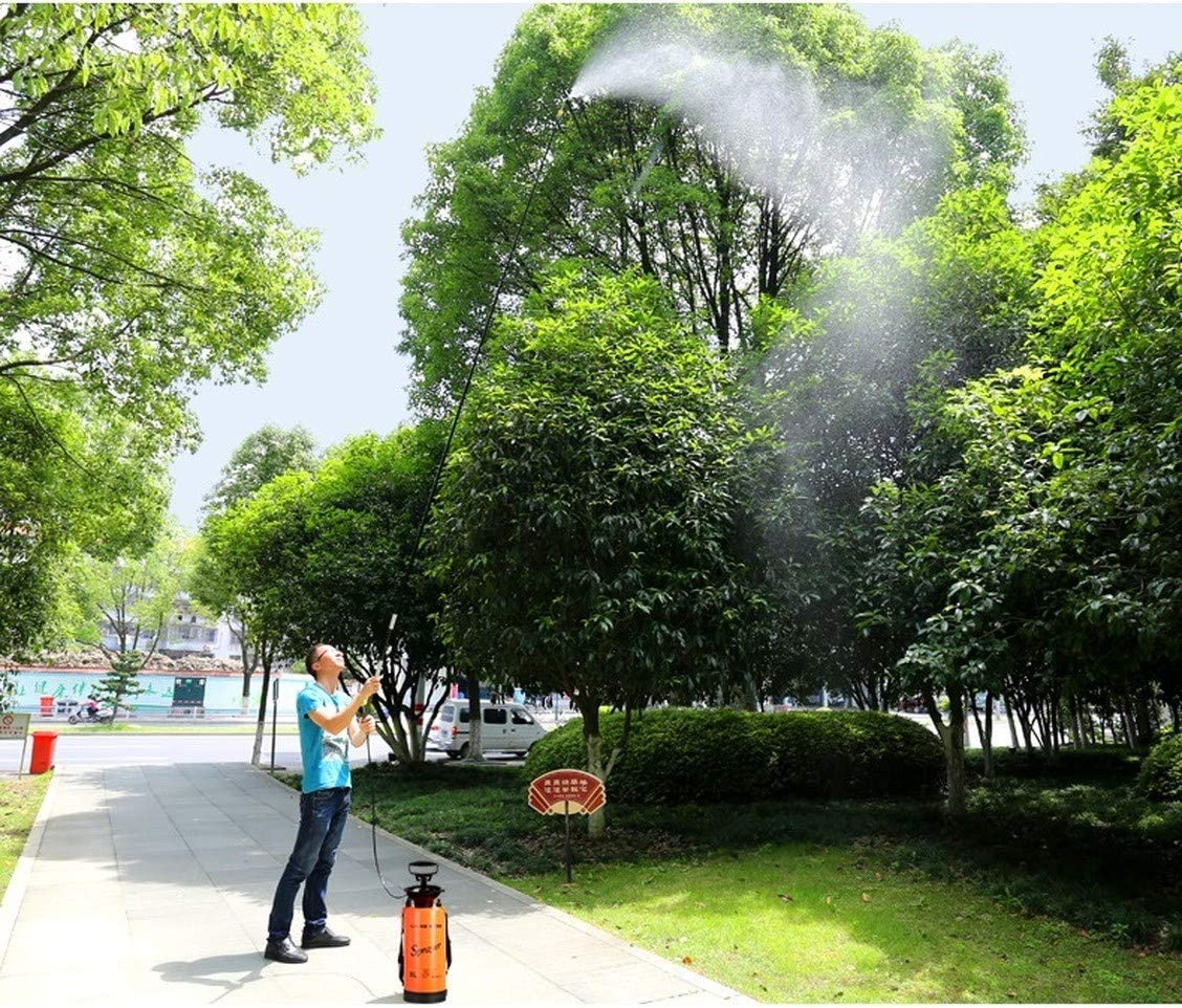 WQM Pression de Jardin Bouteille Pulvérisateur extérieur Fleur Plante arrosage Vaporiser Outils de Jardin Pulvérisateur avec bandoulière Jardiner Outil (V) E