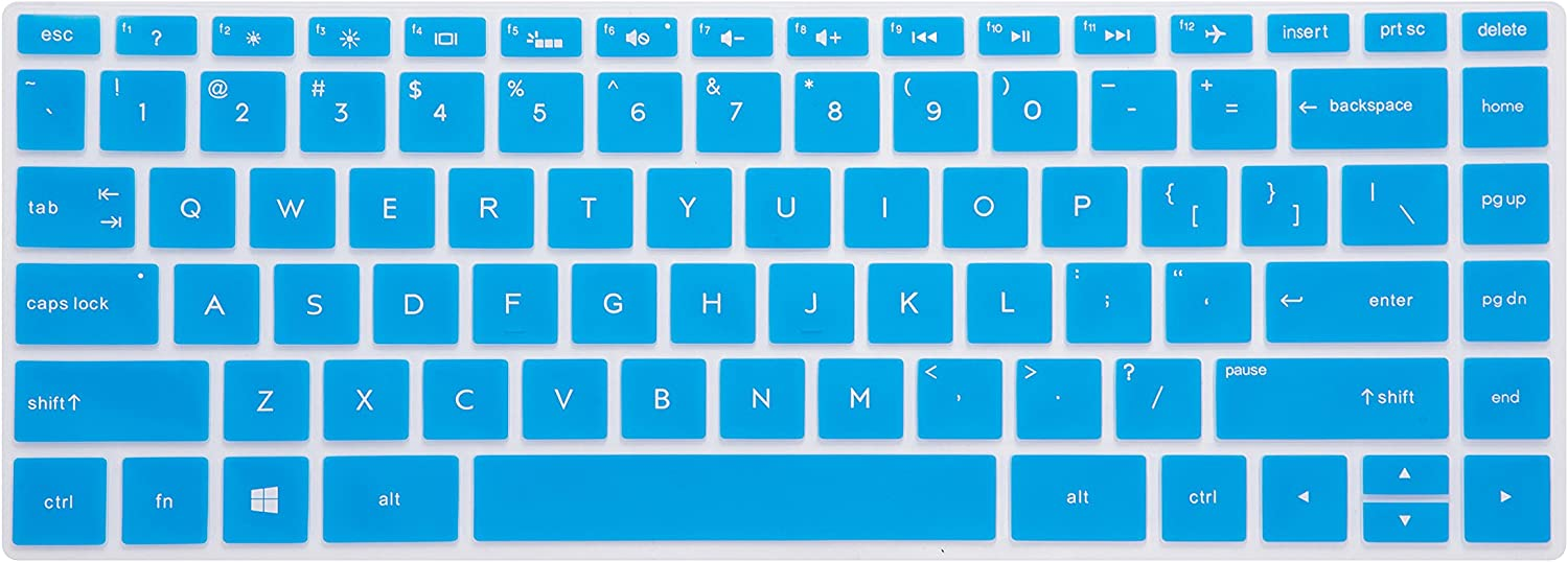 LEZE - Keyboard Cover Compatible with HP Pavilion x360 2-in-1 14M-BA 14M-BA011DX,14M-BF 14-BF050WM,14M-DW0013DX,14M-DW0023DX,14M-BW 14-BW065BR 14-DS0050NR 14-DS0060NR 14-DK1003DX Laptop - Blue
