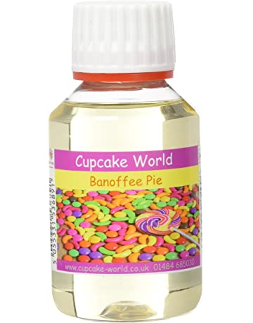 Cupcake World Aromas Alimentarios Intenso Tarta de Banoffee - 100 ml