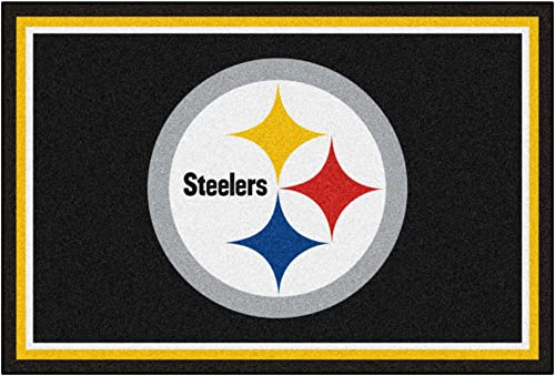 Fanmats Pittsburgh Steelers 5×8 Rug