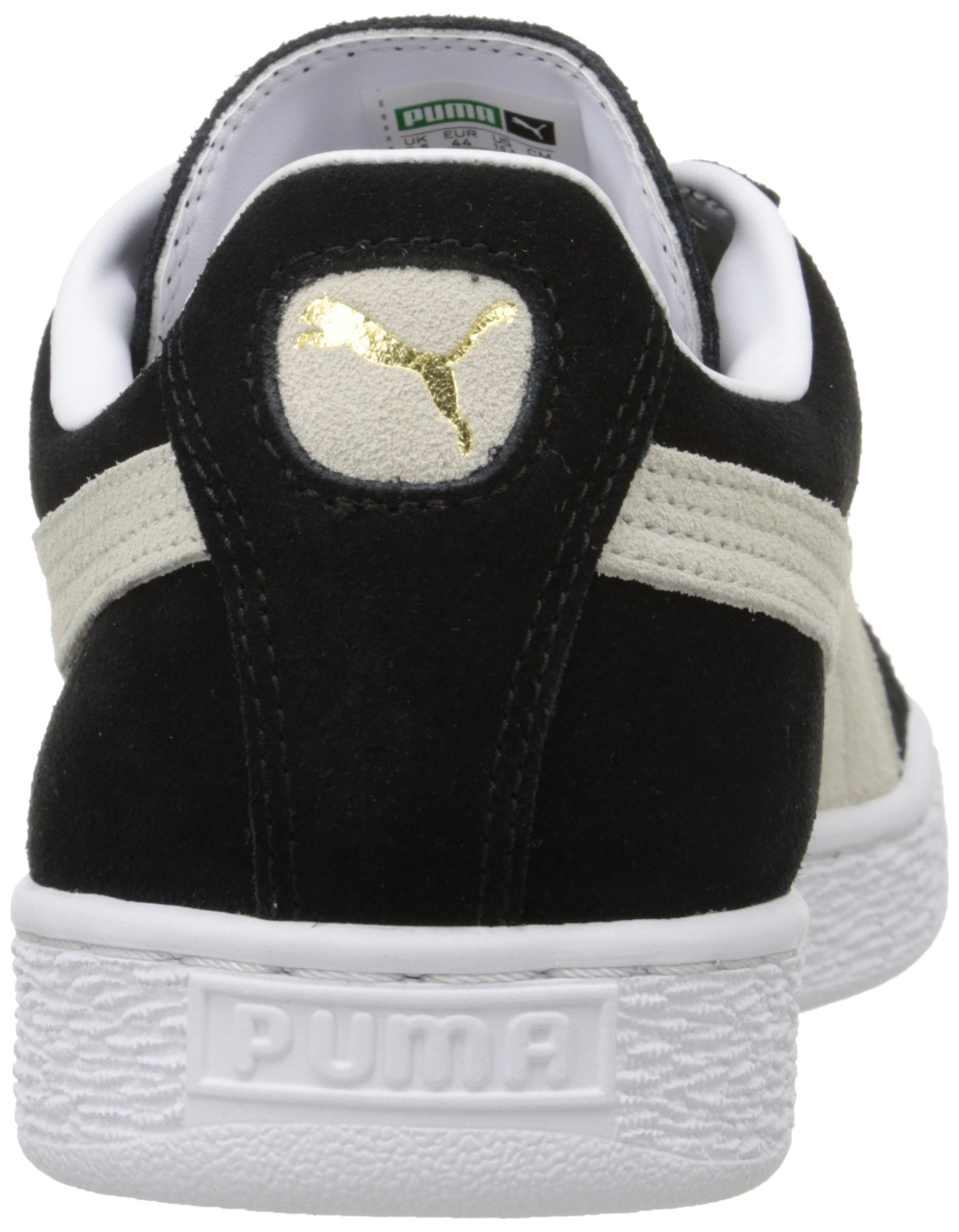 PUMA Suede Classic Sneaker,Black/White,9.5 M US Men's by PUMA (Image #2)