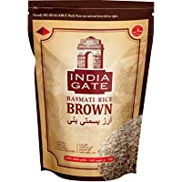 INDIA GATE Brown Basmati 1Kg (Pack of 1)