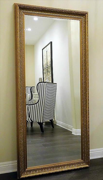 Amazon.com: West Frames Elegance Ornate Embossed Antique Gold Leaf ...