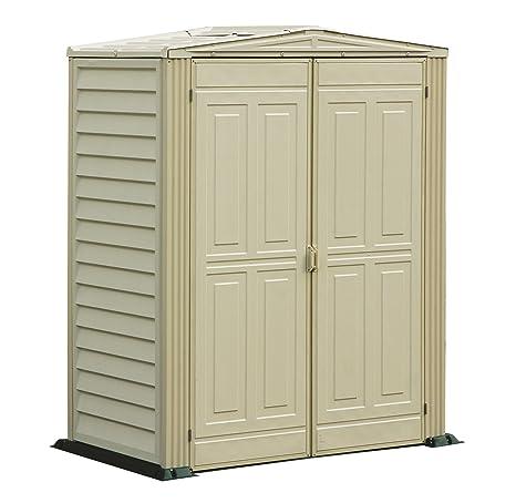 Duramax 982 - Cobertizo de yardmate (5 x 3 pies), Color Beige