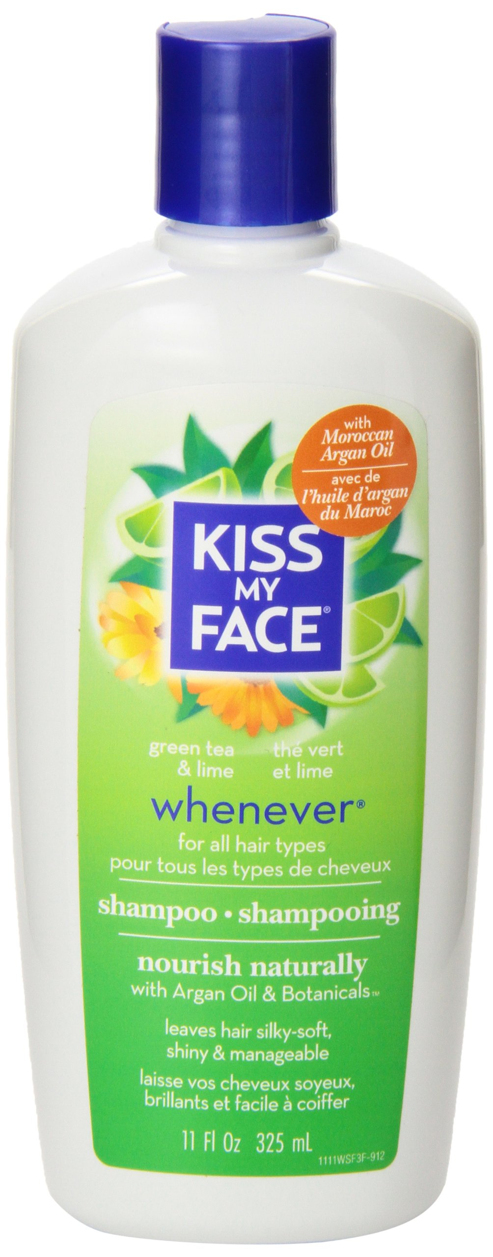 Kiss My Face Whenever Shampoo, Shampoo with Green Tea & Lime, 11 Ounce (Pack of 3) by Kiss My Face (Image #5)