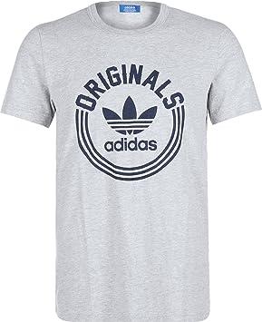 Adidas Originals – Camiseta – SPO – Gris, ...