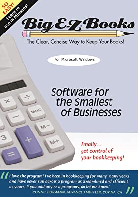 Big E-Z (R) Books for year ending in 2017 - Bookkeeping software for small business, non-profit, groups, clubs & individuals [Download]
