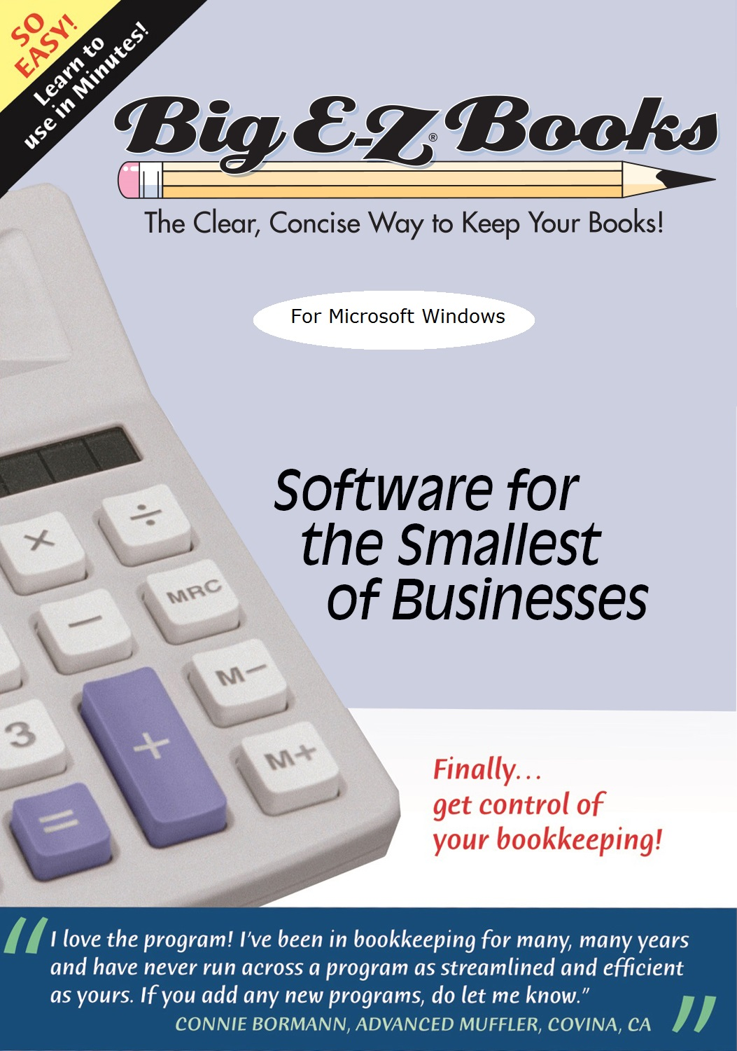 Big E-Z (R) Books for year ending in 2018 - Bookkeeping software for small business, non-profit, groups, clubs and   individuals [Download]
