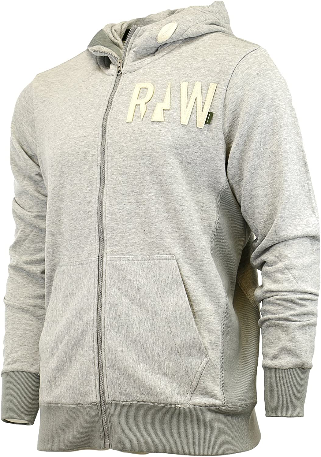 G-Star Raw Mens Netrol Hooded Vest Sw Long Sleeve Sweatshirts