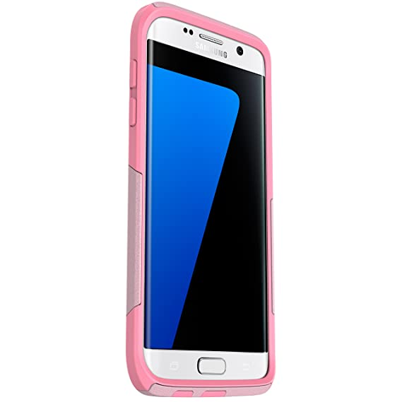 detailed look 71722 b54af OtterBox COMMUTER SERIES Case for Samsung Galaxy S7 Edge - Retail Packaging  - BUBBLEGUM WAY (BUBBLEGUM PINK/SEASHELL PINK)