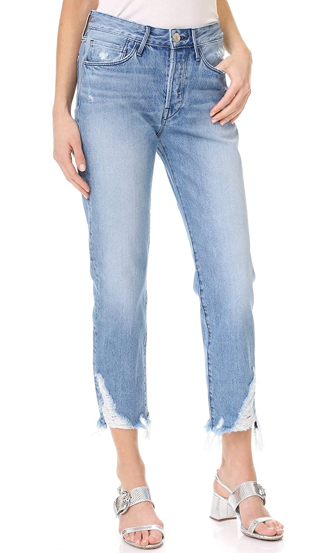 3x1 Women's Higher Ground Boyfriend Crop Jeans