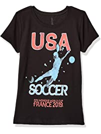 f93d9a0de82 FIFA Big Officially Licensed Us Shooters Youth Girl s Tee