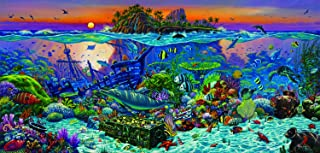 product image for Coral Reef Island 1000 pc Jigsaw Puzzle by SUNSOUT INC