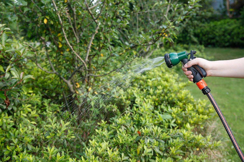 Utilisation /à une main le lavage des animaux domestiques Convient pour le lavage de voiture 7 modes darrosage Pistolet /à eau multifonction Pommeau de douche de jardin larrosage de jardin