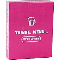 Spielehelden Trinke, wenn.. Pinke Edition - Trinkspiel für deinen Mädelsabend – Tolles Partyspiel und lustige Frauen – Das Must-Have Party Zubehör für tolle Gespräche als Wichtelgeschenke