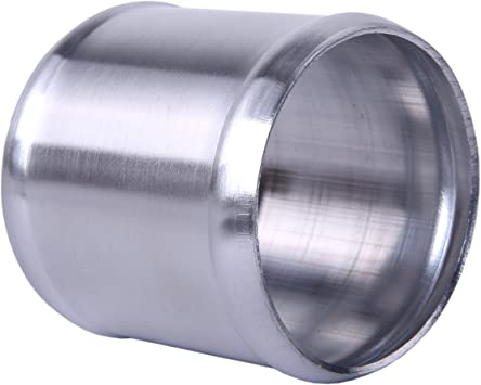 1.3 inch 32mm Hiwowsport Alloy Aluminum Hose Adapter 76mm Length Joiner Pipe Connector Silicone