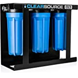 Clearsource Ultra | Premium Three Canister RV Water Filter System | Pristine Water. Unparalleled Protection.