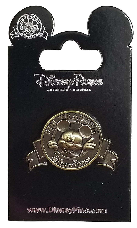 Disney Pin - Disney Parks - Pin Trading Logo - Mickey