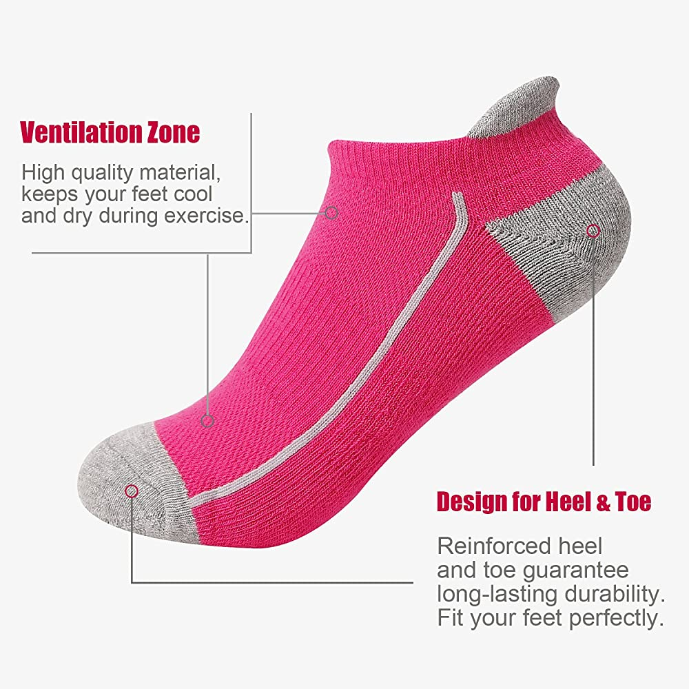Heatuff Womens Low Cut Ankle Athletic