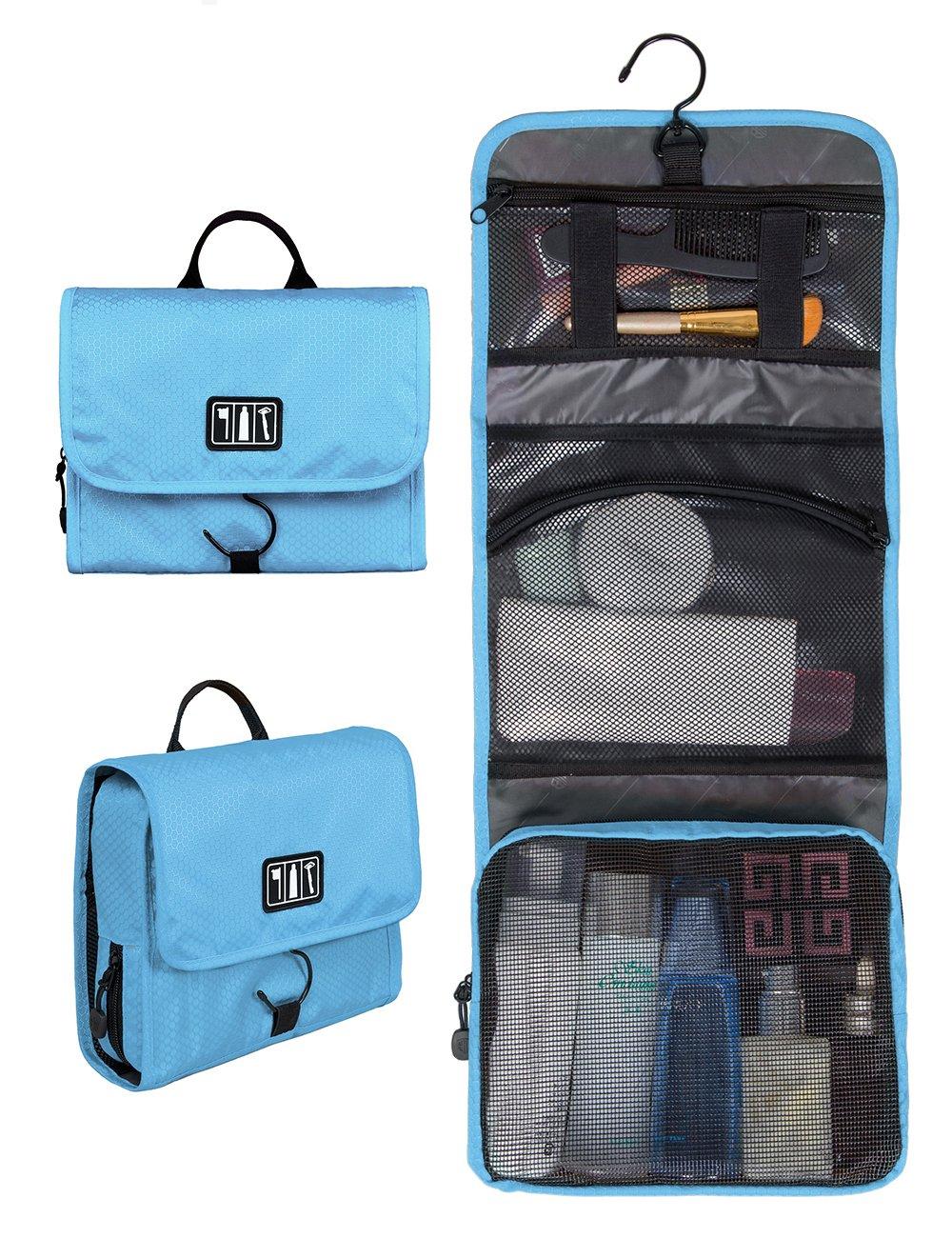 Amazon.com : BAGSMART Hanging Travel Toiletry Bag Cosmetic Carryon ...
