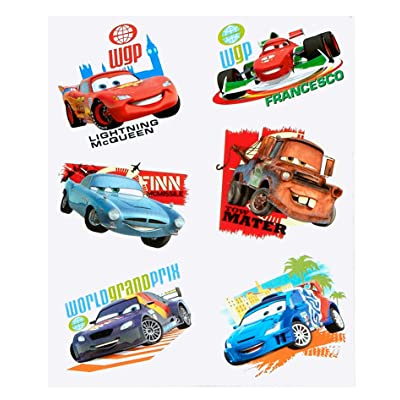 Disney Cars 2 Party Temporary Tattoos: Beauty
