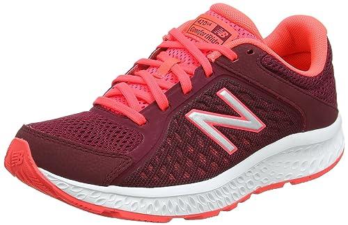 New Balance W460v2, Scarpe Running Donna, Nero (Black/Pink), 36 EU