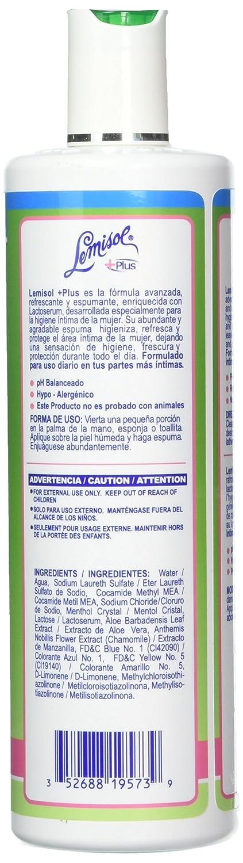Limpiador diario suave Lemisol Plus, fórmula original de refrescamiento, 16 oz (paquete de 2): Amazon.es: Industria, empresas y ciencia