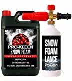 Pro-Kleen Snow Foam Lance / Gun Kit with 5L Cherry Snow Foam For Use With Karcher K Series Pressure Washers (K2 / K3 / K4 / K5 / K6 / K7) 1L Capacity High Quality Manufacturing with Italian Components Fully Adjustable Chemical Dial & Variable Spray Nozzle Easy To Use Instruction Manual Provided Powerful, Heavy Duty, Foamer / Sprayer for Car Washing / Cleaning